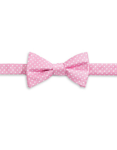 Bow Tie Tuesdays Polka Dot Bow Tie-PINK-One Size
