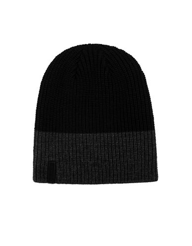 Calvin Klein Reflective Tuque-BLACK-One Size