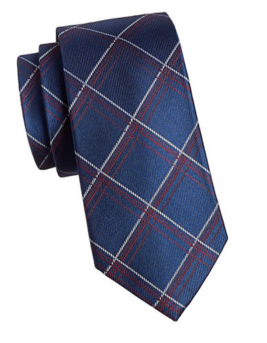 Arrow Premium Silk Tie-RED-One Size