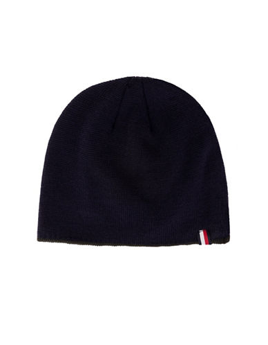 Tommy Hilfiger Fleece-Lined Tipped Beanie-NAVY-One Size