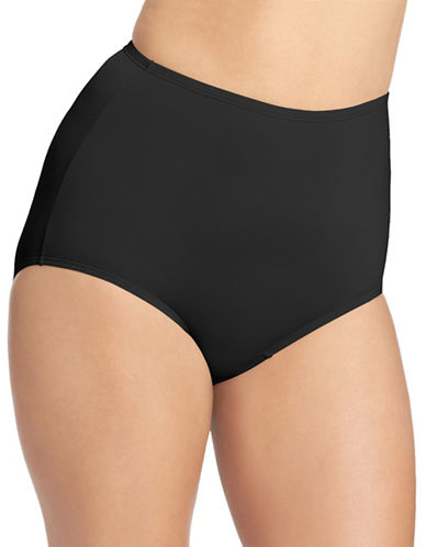 Olga Full Coverage Panty-BLACK-7