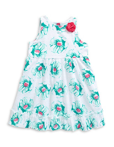 Penelope Mack Floral Clip-Dot Sundress-BLUE-4