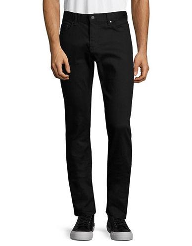Calvin Klein Jeans Slim Leg Jeans-BLACK-36X32