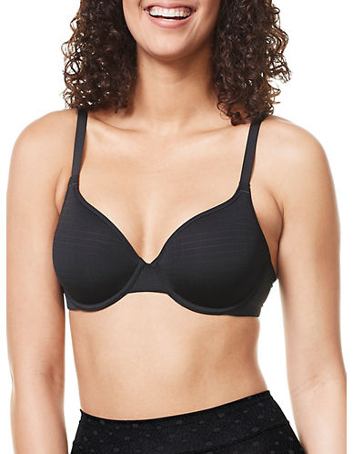 WarnerS RB1691C Cloud 9 Underwire Bra-BLACK-38C