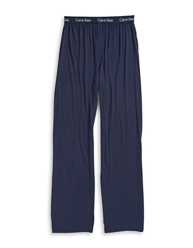Calvin Klein Modal Sleep Pants-NAVY-Small