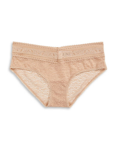 Calvin Klein Stretch Lace Hipsters-BARE-Large