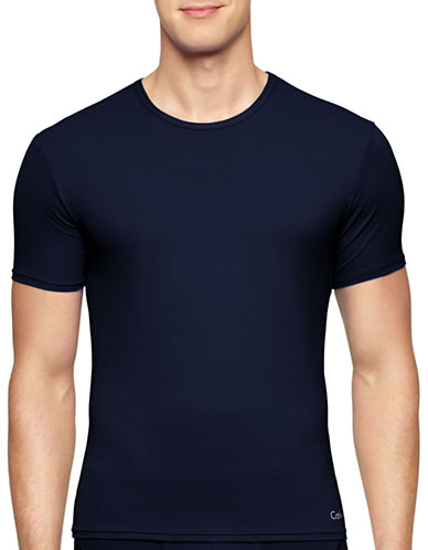 Calvin Klein Air Performance T-Shirt-BLUE-Large 87750677_BLUE_Large