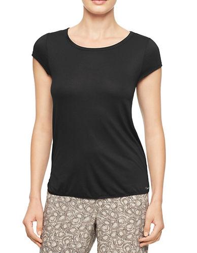 Calvin Klein Sleep T-Shirt-BLACK-Small 87853484_BLACK_Small