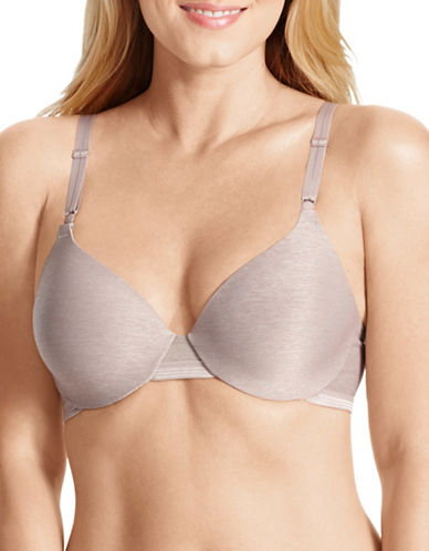 WarnerS RB1281C Cooling Comfort Convertible Bra-MINK-34C
