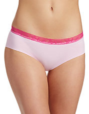 $6.8 CALVIN KLEIN Lace-Trimmed Invisible Hipsters