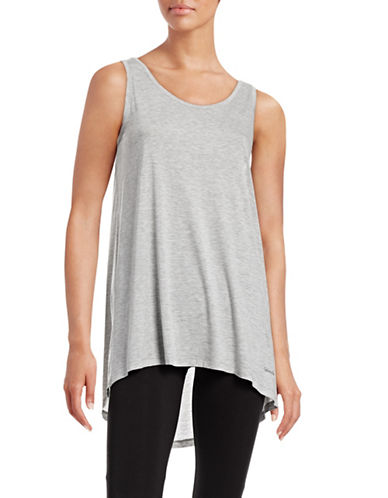 Calvin Klein Sleeveless Relax-Fit Tank Top-GREY-Large 88648698_GREY_Large