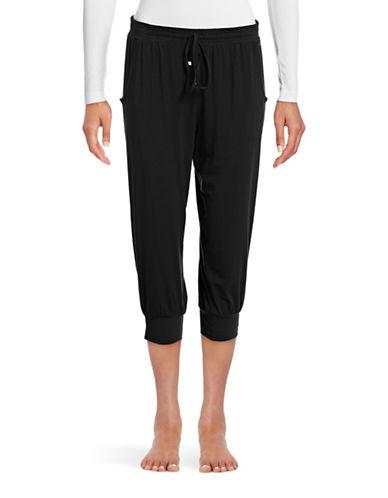 Calvin Klein Capri Sleep Pants-BLACK-Medium 88648700_BLACK_Medium