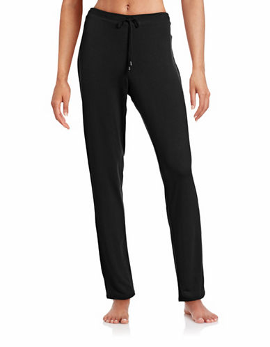 Calvin Klein Flow Lounge Pants-BLACK-Large 88409423_BLACK_Large