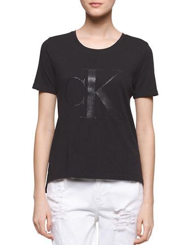 Calvin Klein Jeans Classic Gel Logo T-Shirt-BLACK-Large 88305385_BLACK_Large