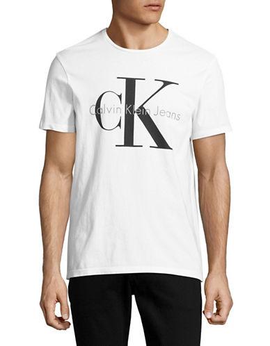 Calvin Klein Jeans CK Logo T-Shirt-WHITE-Large 89089593_WHITE_Large