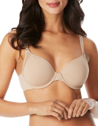 WarnerS Cloud Underwire Backsmoother Bra-TOASTED ALMOND-34B