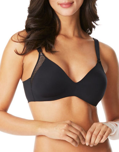 WarnerS Cloud Underwire Backsmoother Bra-BLACK-40C