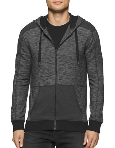 Calvin Klein Jeans Combo Hoodie-BLACK-X-Large 88776312_BLACK_X-Large