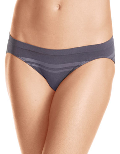 WarnerS Seamless Bikini-GREY-Medium