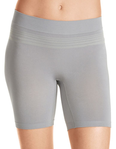 WarnerS Seamless Sleek Shorts-GREY-X-Large