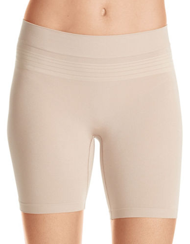 WarnerS Seamless Sleek Shorts-BEIGE-Medium