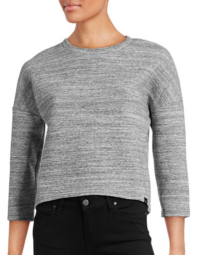 Calvin Klein Jeans Neoprene Sweater-GREY-Small 88799776_GREY_Small