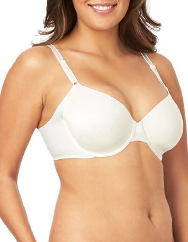 Olga No Side Effects Underwire Bra-BEIGE-42C