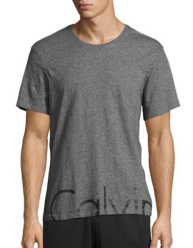 Calvin Klein Jeans Cut-Off Crew T-Shirt-GREY-Large 88844214_GREY_Large