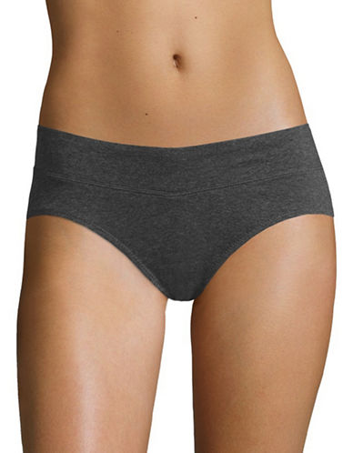 WarnerS Hipster Cotton Briefs-GREY-X-Large