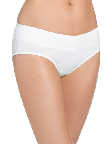 WarnerS Hipster Cotton Briefs-WHITE-Medium