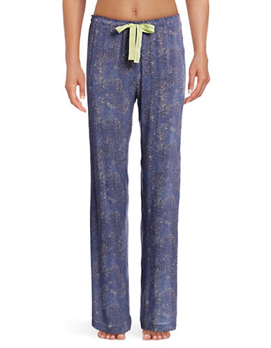 Calvin Klein Printed Woven Sleep Pants-BLUE-Small 88819157_BLUE_Small