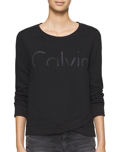 Calvin Klein Jeans Logo Printed T-Shirt-BLACK-Medium 88846704_BLACK_Medium