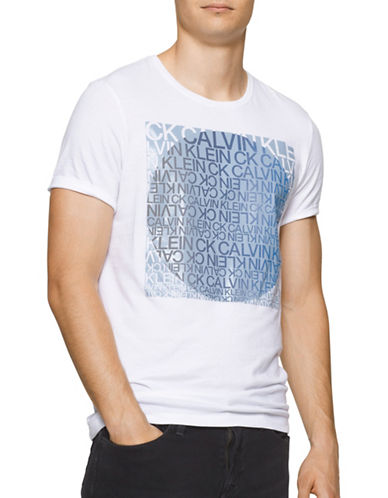 Calvin Klein Jeans Graphic Print T-Shirt-WHITE-Medium 88926637_WHITE_Medium