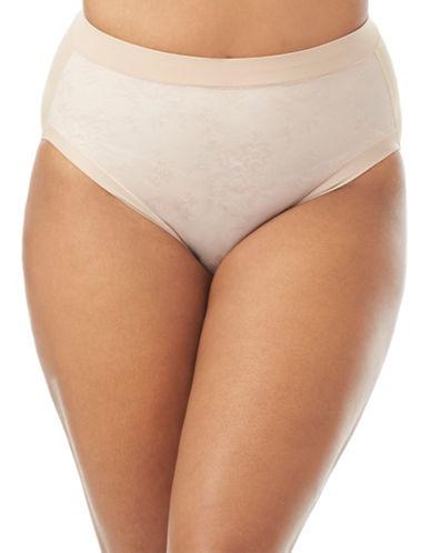 Olga Light Shaping Hi-Cut Briefs-TOASTED ALMOND-6