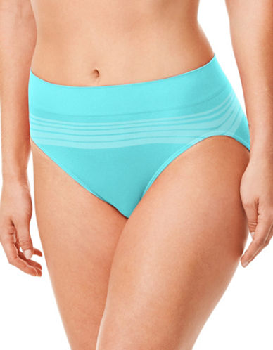 WarnerS No Pinch Seamless High-Cut Brief-BLUE RADIANCE-Small