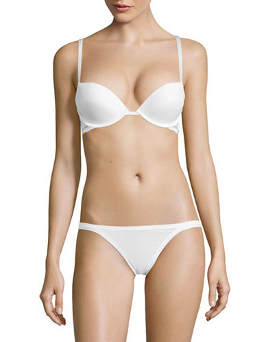 Calvin Klein Allure Push-Up Bra-WHITE-36D
