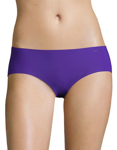 Calvin Klein Invisibles Hipster Briefs-POLYMER BLUE-Small