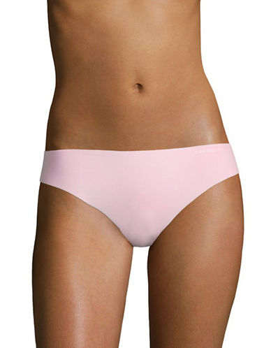 Calvin Klein Invisibles Stretch Thong-CALDWELL PINK-X-Large