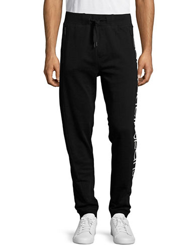 Calvin Klein Jeans Big Logo Sweatpants-BLACK-X-Large 88988894_BLACK_X-Large