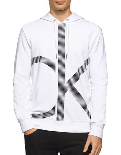 Calvin Klein Jeans Acronym Logo Hoodie-WHITE-Large 88988913_WHITE_Large
