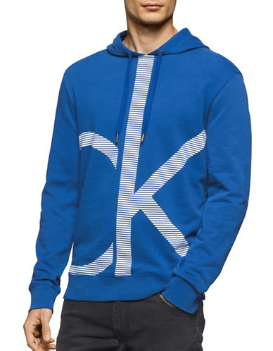Calvin Klein Jeans Acronym Logo Hoodie-BLUE-X-Large 88988910_BLUE_X-Large