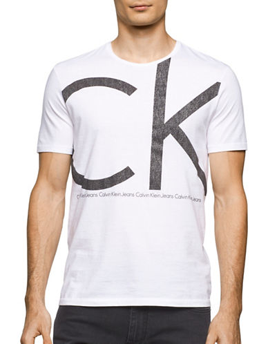 Calvin Klein Jeans Static Logo T-Shirt-WHITE-Large 88988925_WHITE_Large