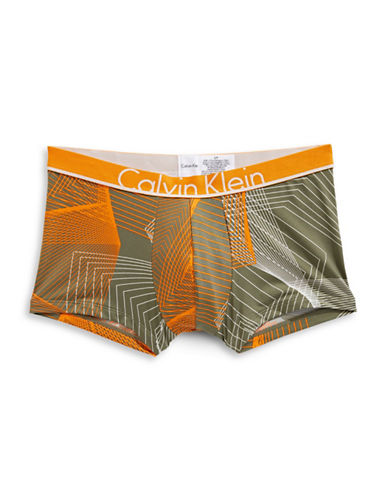 Calvin Klein ID Low Rise Trunks-GREY-X-Large