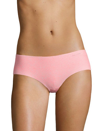 Calvin Klein Spotted Invisible Hipster Panties-SOFT PINK-X-Large