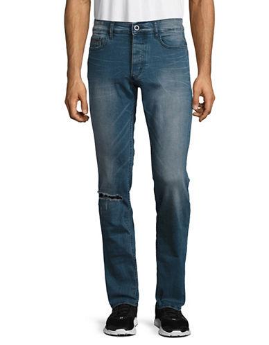 Calvin Klein Jeans Vintage Mince Slim Fit Jeans-BROWN-36X32