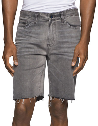 Calvin Klein Jeans Summer Ocean Denim Shorts-GREY-38