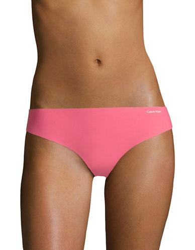 Calvin Klein Invisibles Stretch Thong-DESERT SUNSET-X-Large