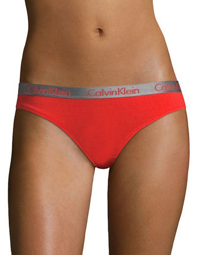 Calvin Klein Radiant Cotton Bikini Brief-SCANDAL-Large