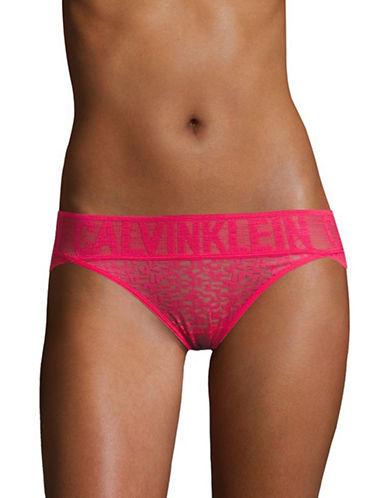 Calvin Klein Radical Lace Bikini Panties-SULTRY-Large