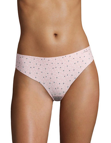 Calvin Klein Invisibles Thong-VISIONARY FLORAL-X-Large